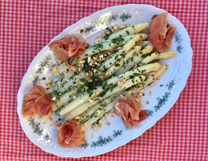 asperge met een spaans tintje